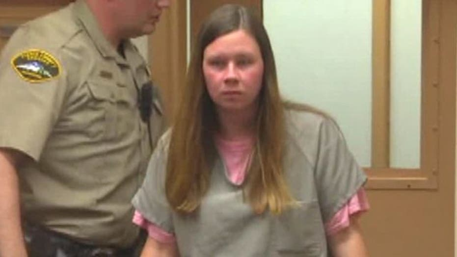 Mother accused of putting bleach in infant daughter's eyes