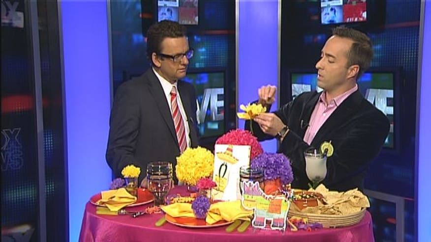 How to make Cinco de Mayo decorative crafts inexpensively.