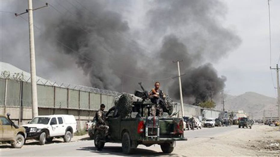 Taliban attacks Kabul hours after president's visit