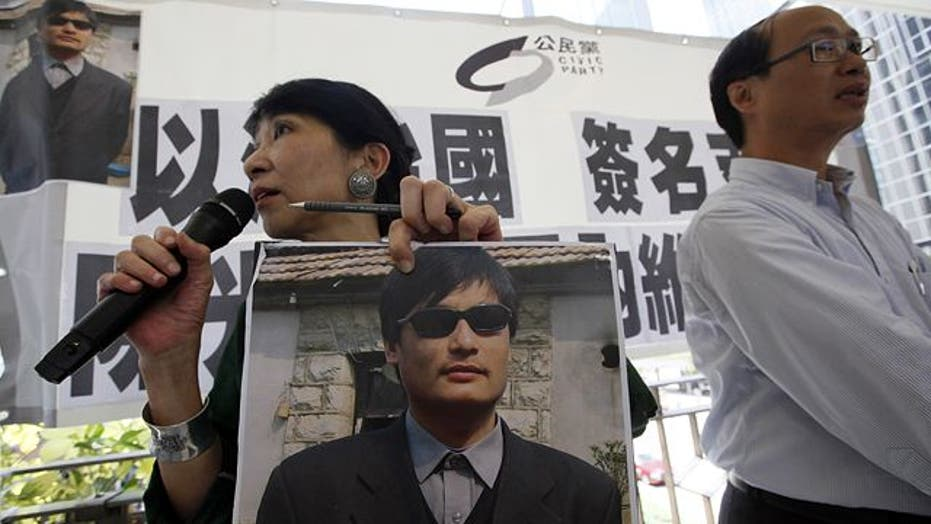 Human rights abuses in China put White House in tough spot