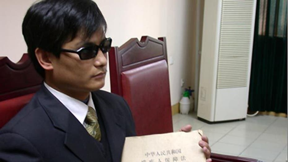 Chinese dissident strains complex relationship with US