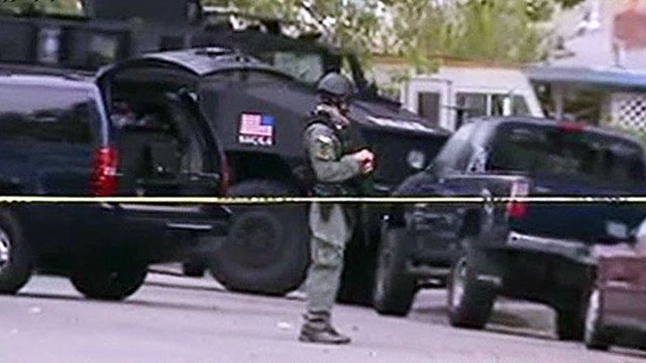 3 ICE agents shot in North California