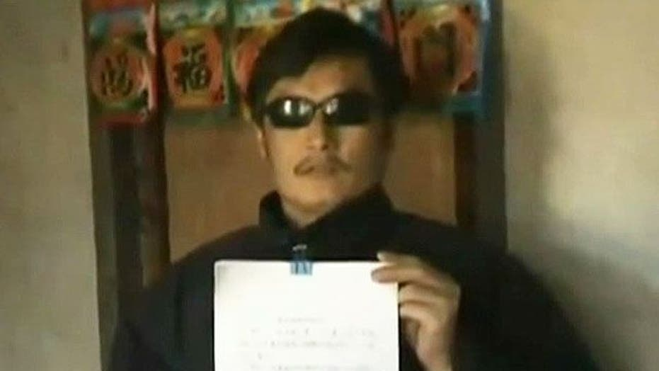 US, China find solution for blind dissident?