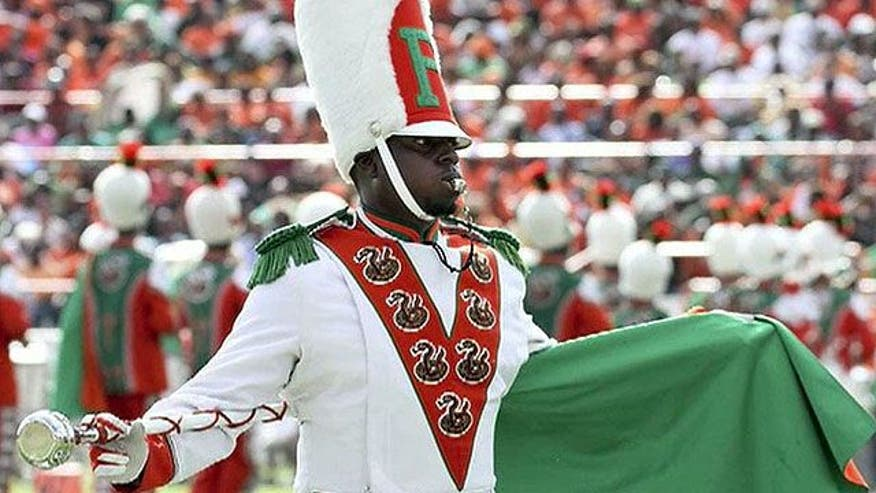 Police detain Florida A&M band member