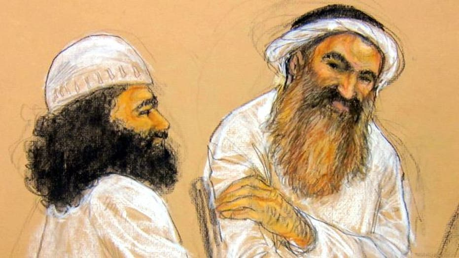 9/11 plotters disrupt hearing with courtroom antics