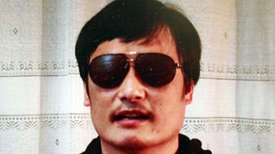Will Chinese government allow blind activist to leave?