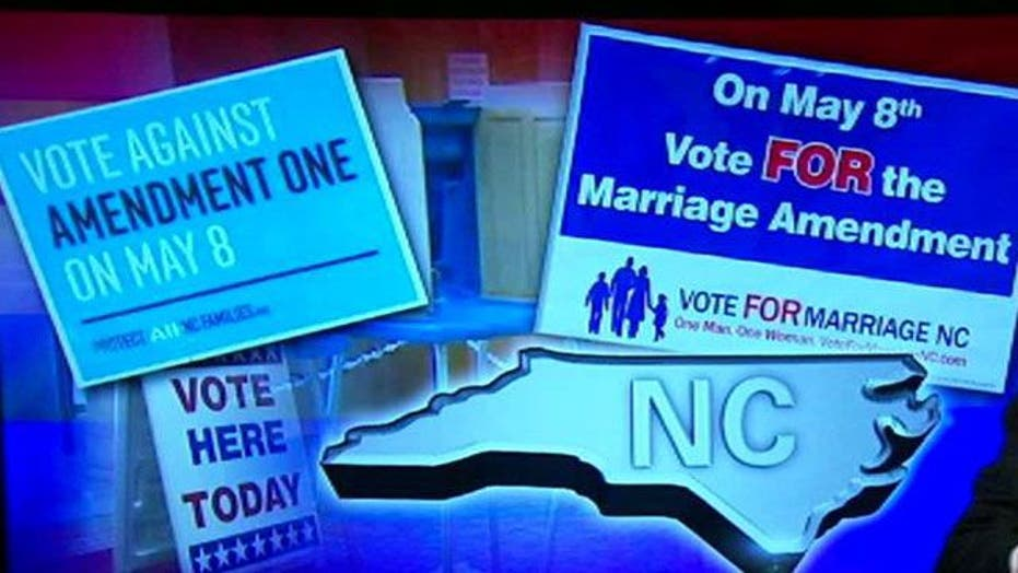 Fate of gay marriage ban in voters' hands