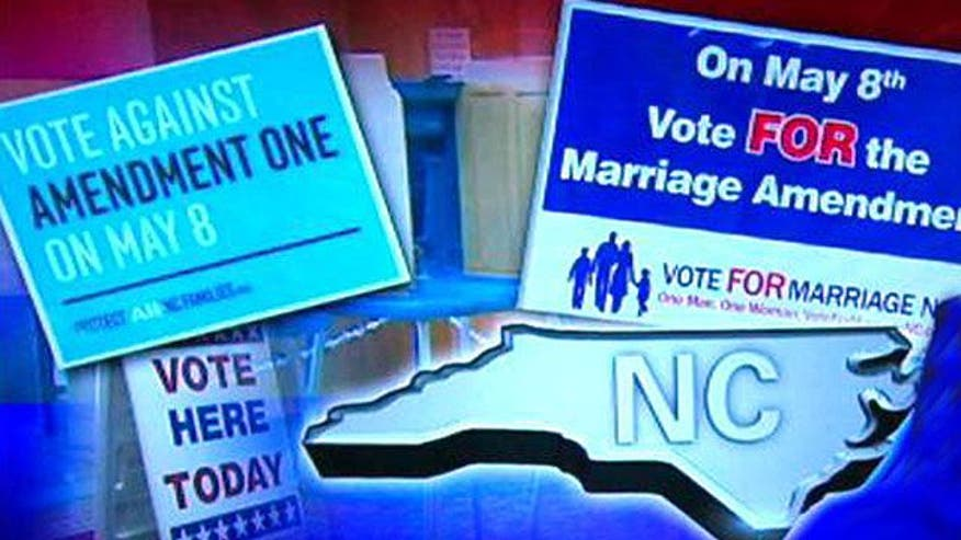 Voters pass constitutional amendment defining marriage solely as a union between a man and a woman
