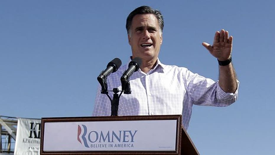 Romney reacts to Obama's shift on gay marriage