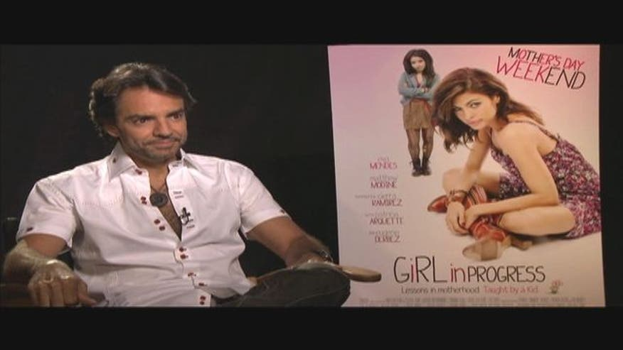 "Eugenio Derbez talks about ""Girl in Progress,"" coming back for another season of Â¡ROB! and his directorial debut for ""Man of Stone. """