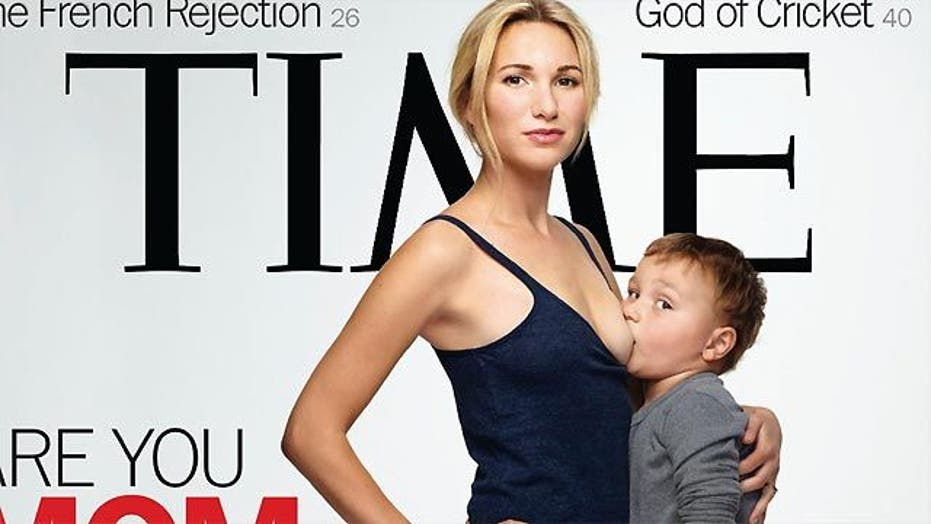 Did Time's breastfeeding cover go too far?