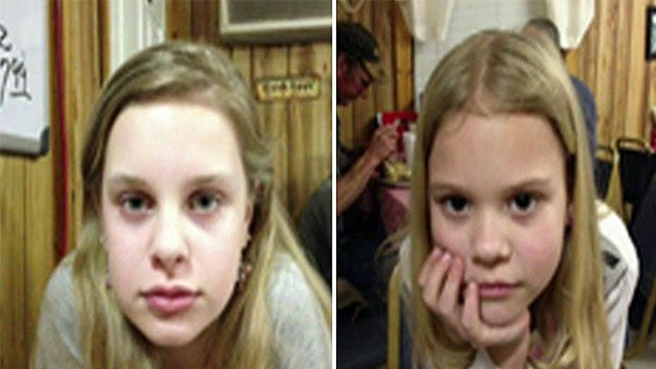 Kidnapped sisters released from Mississippi hospital