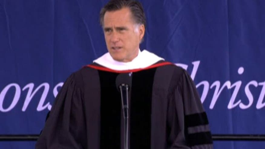 Mitt Romney discusses faith in America