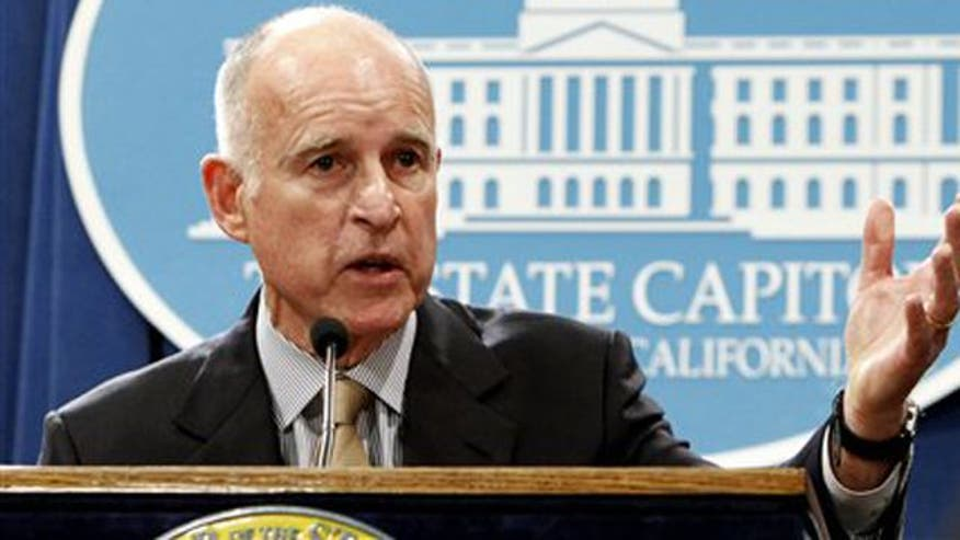 Gov. Brown wants budget cuts, tax hikes to fix $16B deficit