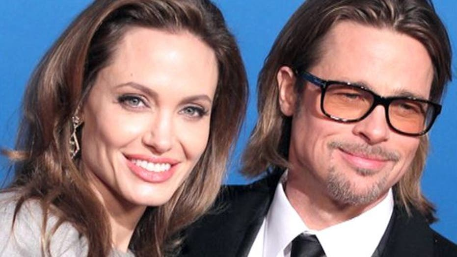 Angelina spoils Brad with helicopter
