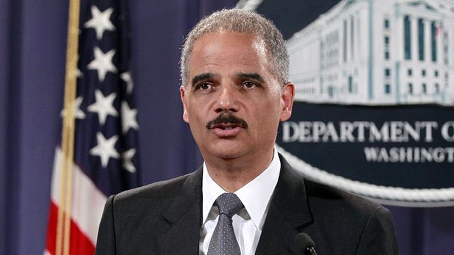 Is Eric Holder corrupt or playing politics?
