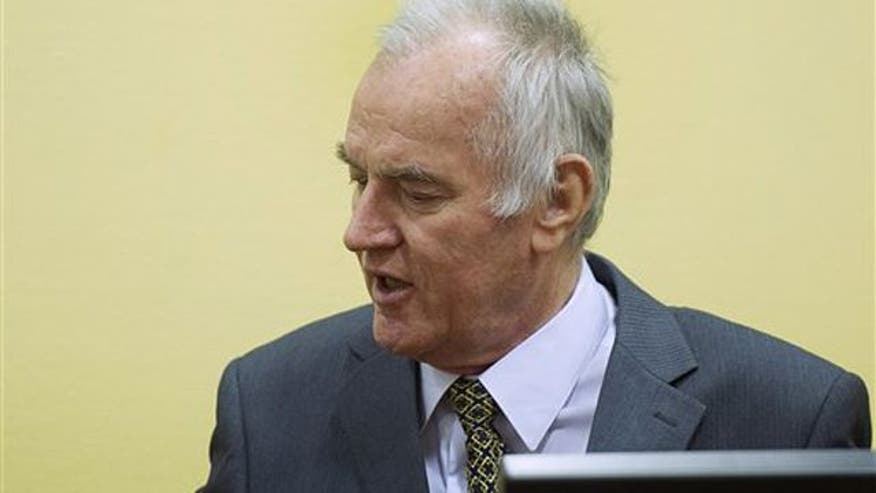 Ratko Mladic accused of helping orchestrate mass murder in Bosnia