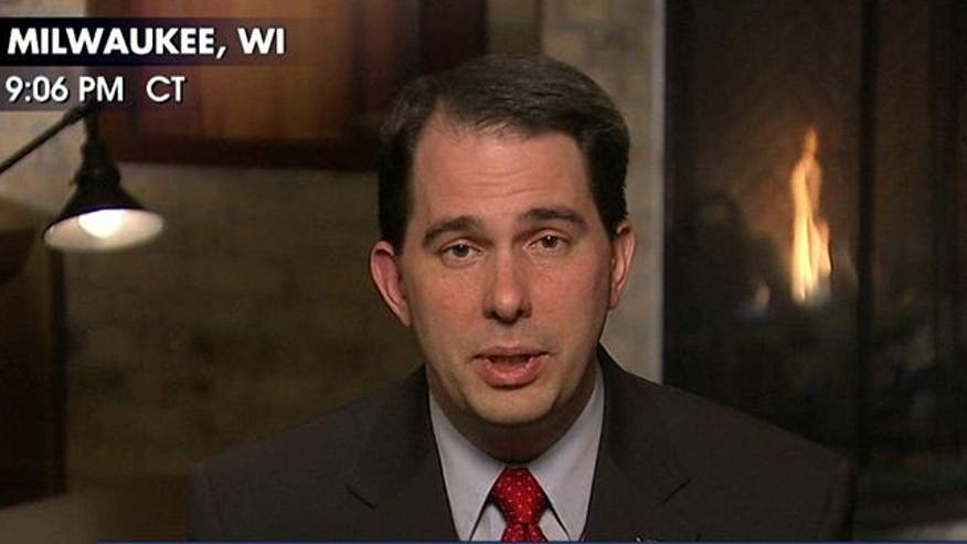 Will jobs numbers give Gov. Scott Walker momentum in Wisconsin's recall election?