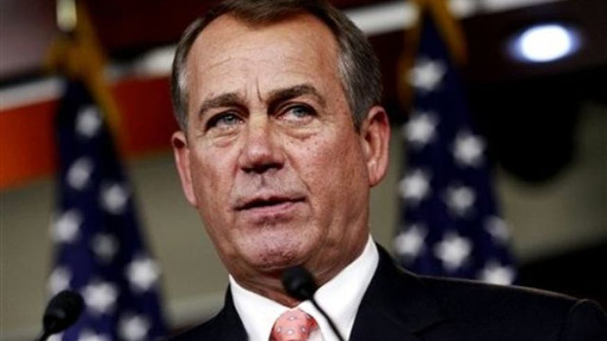 Boehner rules out tax increases, demands spending cuts