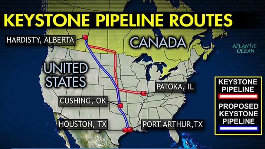 Canada to U.S. crude oil project causing lots of controversy