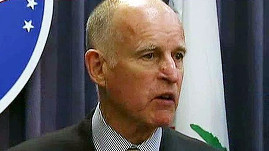 Gov. Jerry Brown's strategy for growing deficit woes