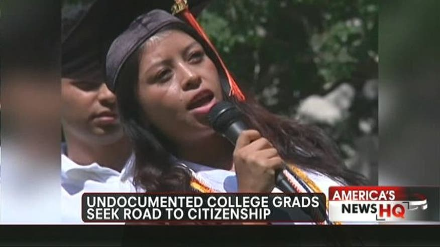 Undocumented students seek citizenship after facing major obstacles after overcoming the odds to graduate from college.