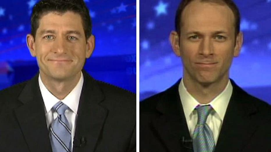 Ryan, Goolsbee debate Obama, Romney economic records