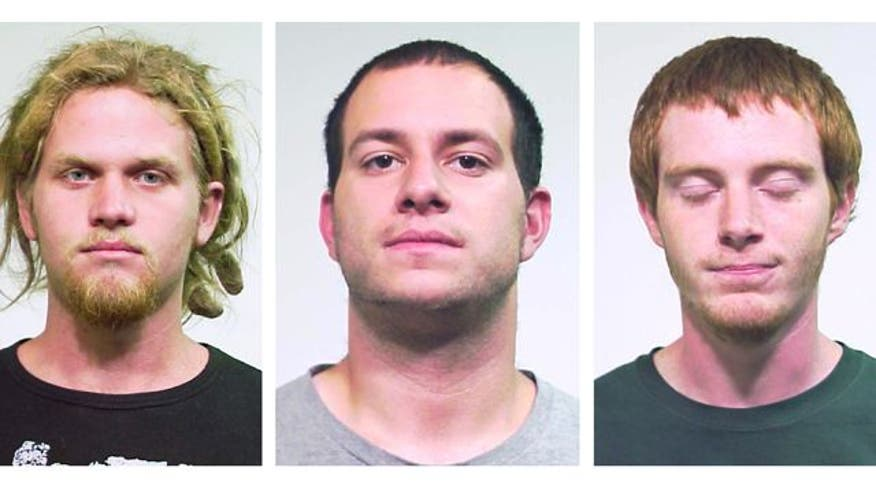 State terrorism charges leveled against trio who allegedly planned to disrupt meeting in Chicago