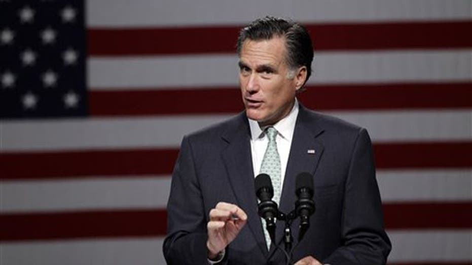 Romney's electoral road to the White House