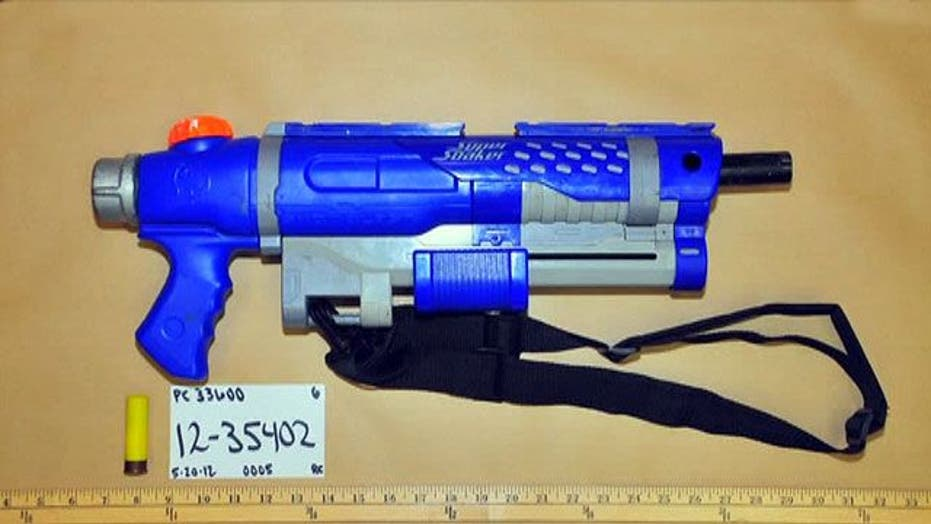 Super Soakers turned into real guns