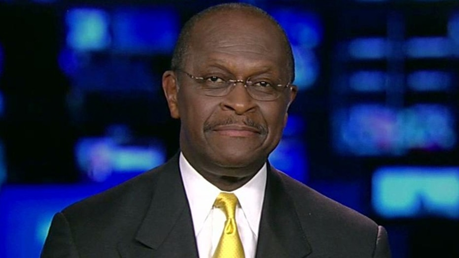 Herman Cain on His Run for the White House