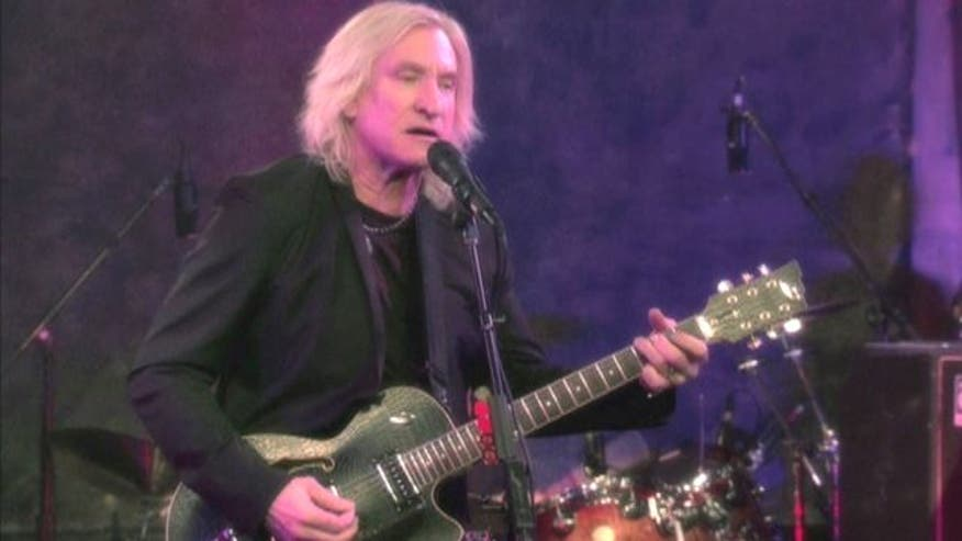 Watch our exclusive video of Joe Walsh's new single 'Wrecking Ball'