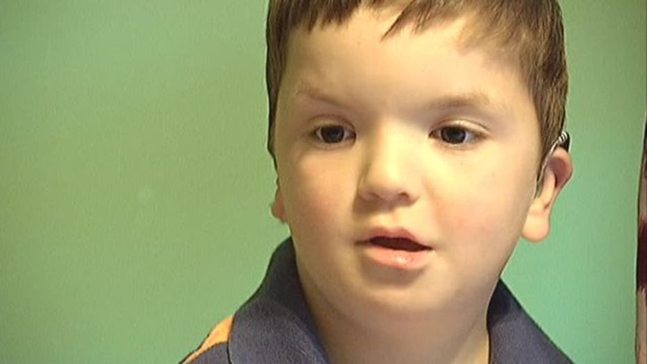 Super hero created for special-needs boy