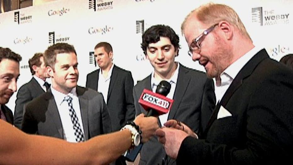 Tech guru's chat about their favorite apps at Webby Awards