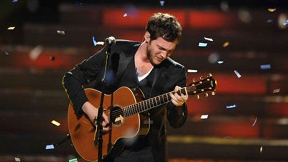 Phillip Phillips crowned 'American Idol's' new champion