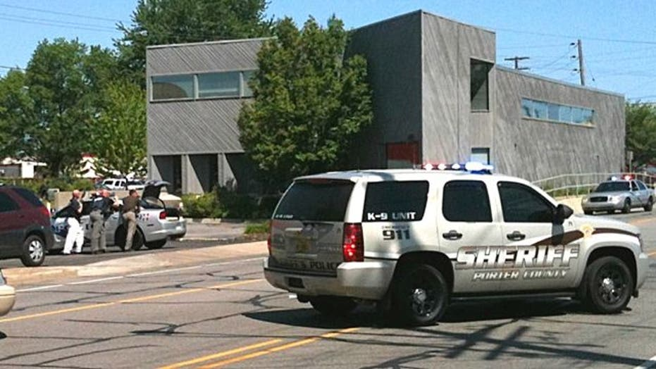Employee witnesses hostage situation at real estate office