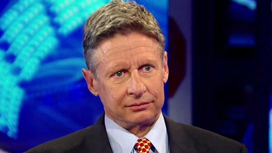 'Hannity' Primary: Gary Johnson, Part 1