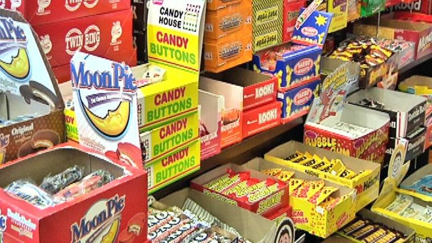 Retro Candy on the Comeback Trail bringing memories of past times