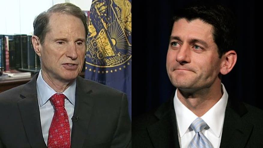 Liberal Sen. Ron Wyden teams up with Rep. Paul Ryan