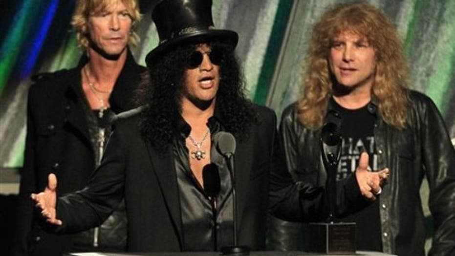 Rocking out with legendary guitarist Slash!