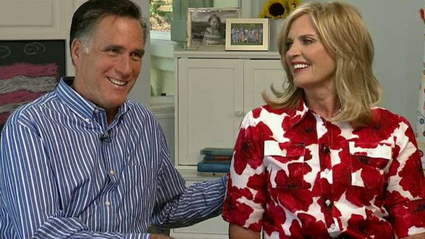 Bill Hemmer sits down with Mitt and Ann to find out more about them and the campaign