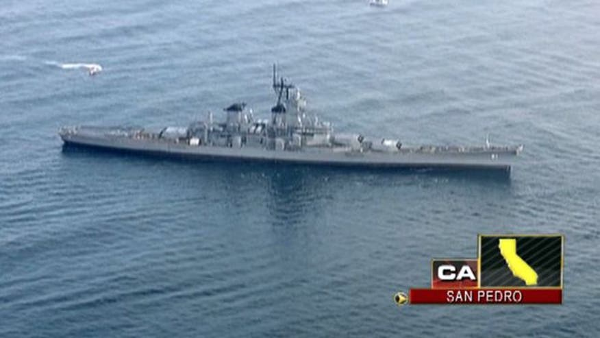 World War II battleship to become museum