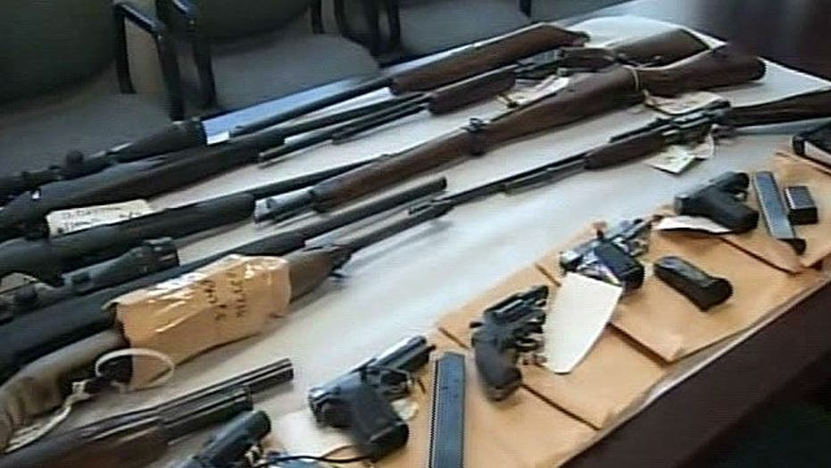ATF, Oakland police stage gun bust