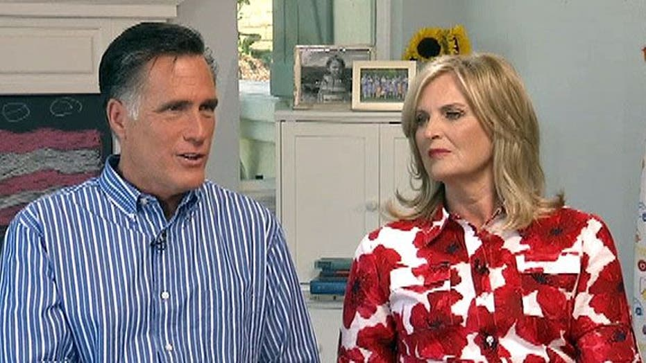 Mitt and Ann Romney reveal what bugs each other