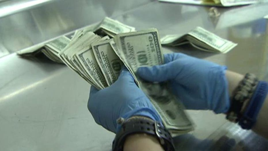 What happens to dirty money?