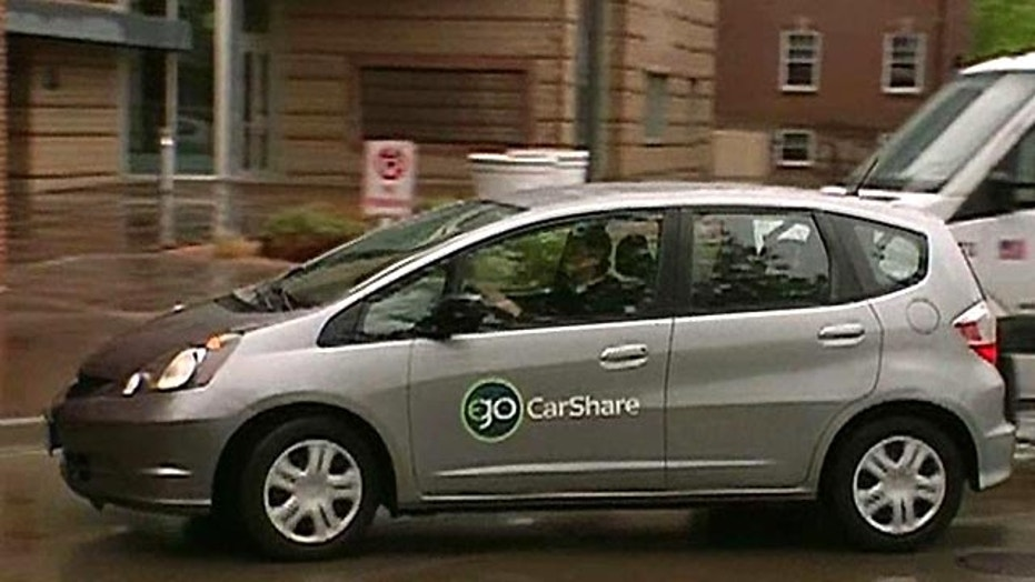 Car Sharing Hits the Gas