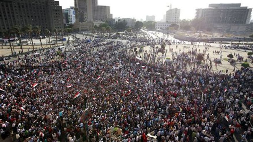 Protesters angry Mubarak did not receive death penalty