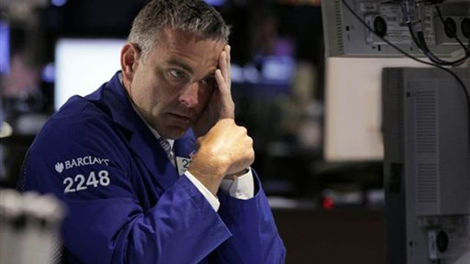 Stocks plunge as jobless rate rises