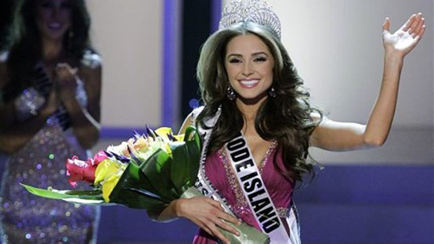 Olivia Culpo, a self-described 'nerd' cellist, takes home coveted title of Miss USA