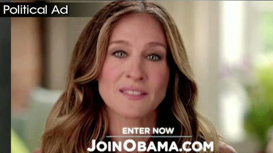 Sarah Jessica Parker campaigns for the president